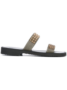 сандалии с заклепками Cliff Giuseppe Zanotti Design