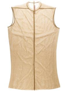 полупрозрачное платье  Rick Owens Lilies