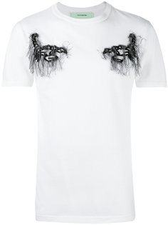 футболка с вышивкой Off-White