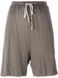 трикотажные шорты с завязкой  Rick Owens Lilies