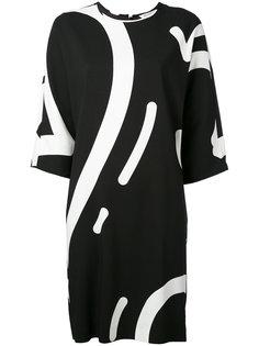 платье с принтом Rete Max Mara