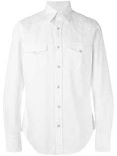 рубашка с карманами на груди  Tom Ford