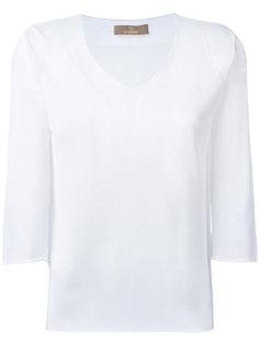 прозрачная блузка Cruciani
