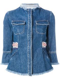 джинсовая куртка Bazar Deluxe