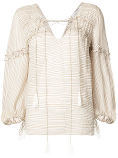 блузка с рюшами Derek Lam 10 Crosby
