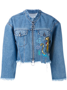 Amine denim jacket Marcelo Burlon County Of Milan