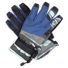 Перчатки сноубордические Quiksilver Mission Glove Alaskan Camo Militar