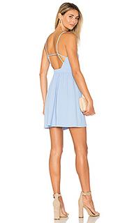 Приталенное расклёшенное платье isla - Susana Monaco