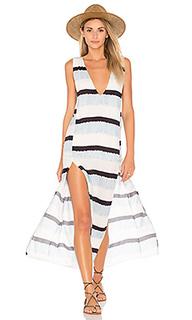 Макси платье с разрезом siena - Vix Swimwear