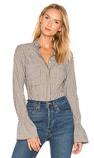 Striped fitted blouse - FRAME Denim