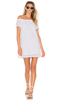 Off the shoulder eyelet dress - Michael Stars
