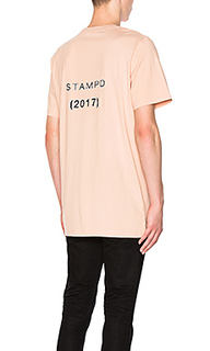 Pixelated logo tee - Stampd