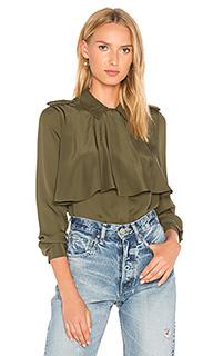 Mixed military shirt - FRAME Denim