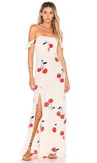 Макси платье bardot - FLYNN SKYE