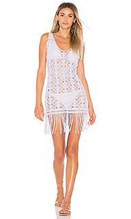Muchachita linda flirty fringe dress - Luli Fama