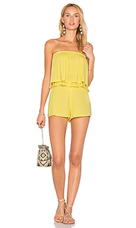 Layered romper with tassels - BLQ BASIQ
