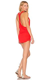 Мини-платье с t-образной бретелькой сзади cosita buena - Luli Fama