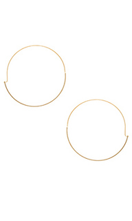Full circle hoop earring - Wanderlust + Co
