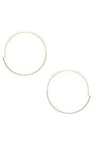 Full circle hoop earring - Wanderlust + Co