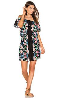 Мини-платье с открытыми плечами - Nanette Lepore
