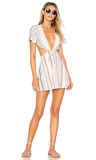 Мини платье charlotte - BEACH RIOT
