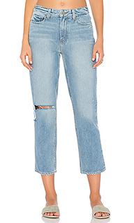 Прямые джинсы высокой посадки sarah - PAIGE
