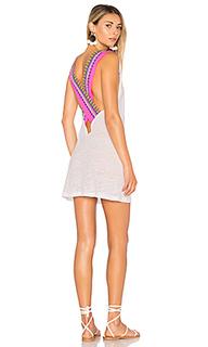 Платье с перекрестными шлейками сзади - Pitusa
