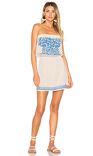 Paz embroidered sundress - Star Mela