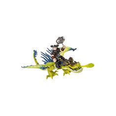 Набор Сморкала и Кривоклык, зеленый дракон, Как приручить дракона, Spin Master
