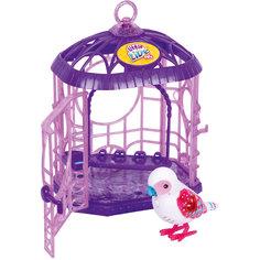 Интерактивная птичка в клетке, белая, Little Live Pets, Moose