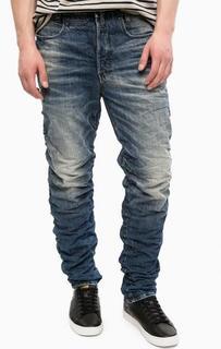 Зауженные джинсы с заломами G Star RAW