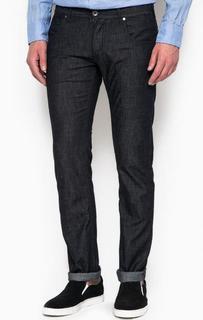 Брюки из денима прямого кроя Armani Jeans