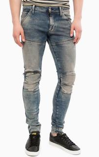 Зауженные джинсы с карманом на молнии G Star RAW