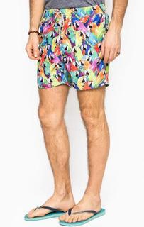 Разноцветные купальные шорты MC2 Saint Barth