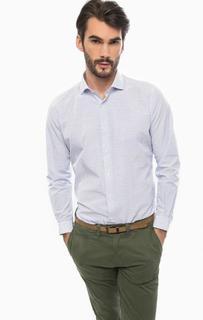 Хлопковая приталенная рубашка Liu Jo Uomo