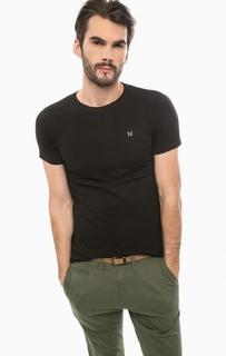 Черная футболка с круглым вырезом Liu Jo Uomo
