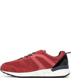 Красные кроссовки с вкладной стелькой Hilfiger Denim