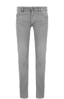 Однотонные джинсы прямого кроя Philipp Plein