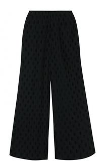 Укороченнеы полупрозрачные брюки свободного кроя MCQ