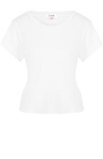 Хлопковая футболка прямого кроя Re/Done