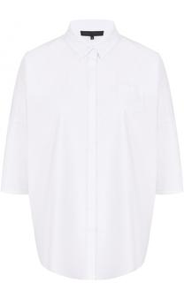 Блуза свободного кроя с укороченным рукавом Tegin