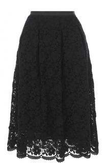Кружевная юбка-миди St. John