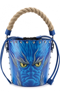 Сумка Studded Dragon Bucket J.W. Anderson