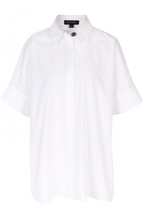 Блуза свободного кроя с укороченным рукавом Escada