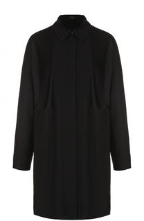 Удлиненная блуза свободного кроя Escada