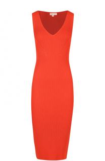Облегающее вязаное платье без рукавов MICHAEL Michael Kors