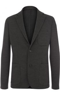 Однобортный хлопковый пиджак Bogner