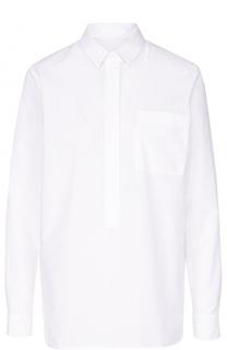 Блуза свободного кроя с накладным карманом HUGO
