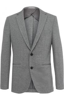 Однобортный пиджак из вискозы BOSS
