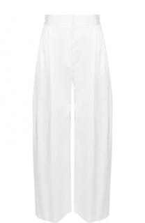 Укороченные широкие брюки с защипами The Row